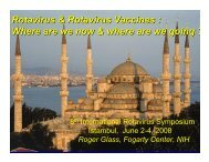 Roger Glass - Sabin Vaccine Institute