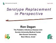 Ron Dagan - Sabin Vaccine Institute