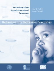 Rotavirus and Rotavirus Vaccines - Sabin Vaccine Institute