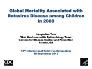 Jackie Tate - Sabin Vaccine Institute