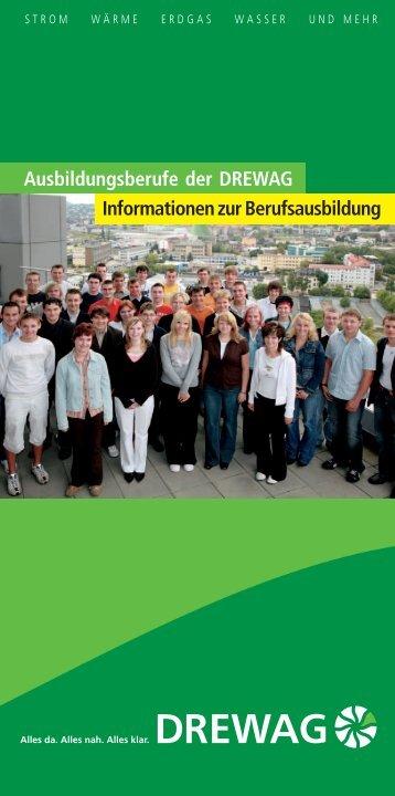 Ausbildungsberufe der DREWAG Informationen zur Berufsausbildung