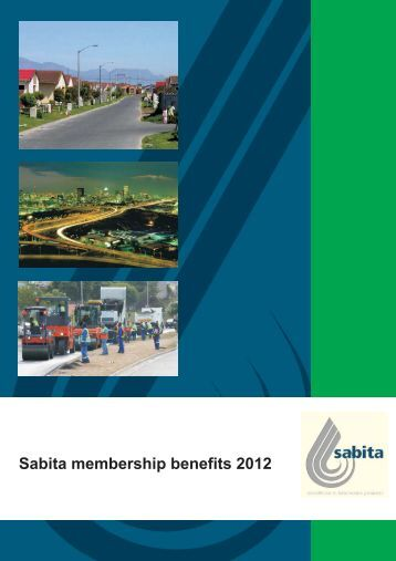 Membership Benefits - Sabita