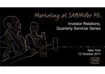 category - SABMiller