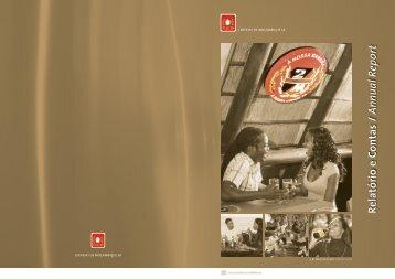 Annual Report 2008 - Cervejas de Moçambique (CDM) - SABMiller
