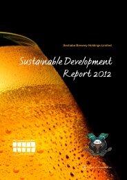 Sustainable Development Report - SABMiller