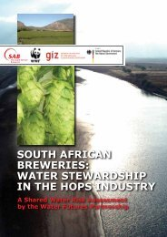 Water Stewardship in the Hops Industry - SABMiller