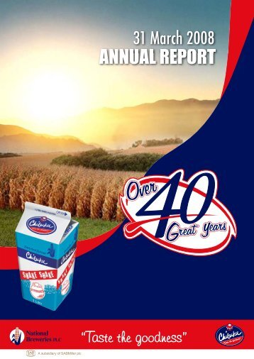 Download the National Breweries Zambia 2008 Annual ... - SABMiller