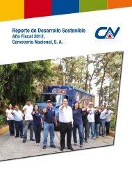 Reporte de Desarrollo Sostenible - SABMiller