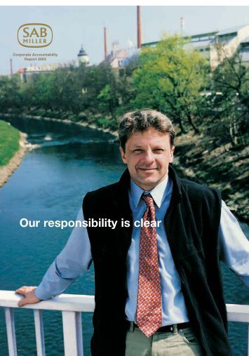 Corporate Accountability Report 2003 - SABMiller