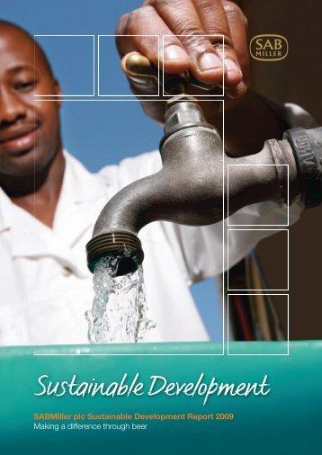 Sustainable Development Report 2009 - SABMiller