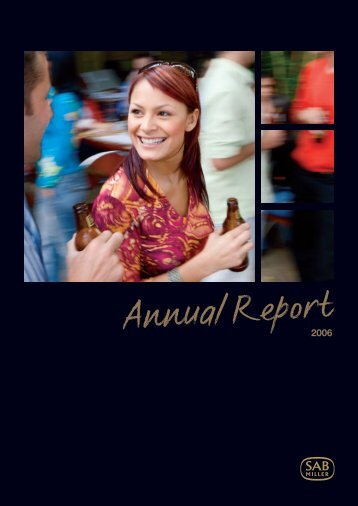 Download the SABMiller plc 2006 Annual report PDF