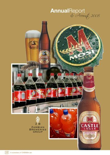 Download the Zambian Breweries 2008 Annual report ... - SABMiller