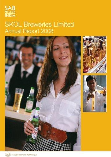 SKOL Breweries Limited Annual Report 2008 - SABMiller