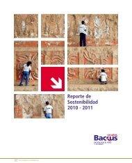 Backus SD Report 2011 - SABMiller