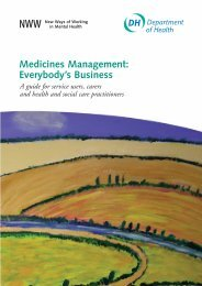 Medicines management: Everybody's business - Surrey and Borders ...