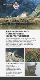 Download hier als PDF-File - SAC Sektion Albis