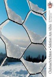 Clubnachrichten März/April 2013 - SAC Sektion Albis