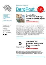 Bergpost April 13 - Schweizerisches Alpines Museum