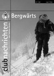 Bergwärts 1 - SAC Sektion Bodan