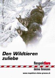 Informationen für Schneeschuhläufer (de)