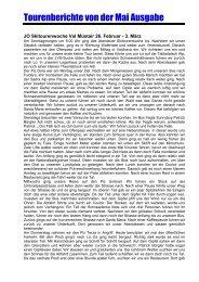 Berichte lesen - SAC Sektion Mythen