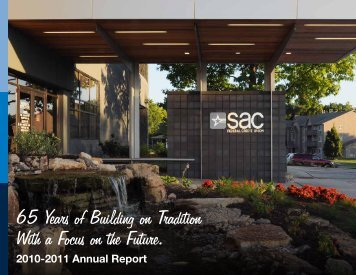 2010-2011 Annual Report - SAC Federal Credit Union