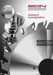 Katalog 45 Kreissägeblätter - EDN-Neuhaus
