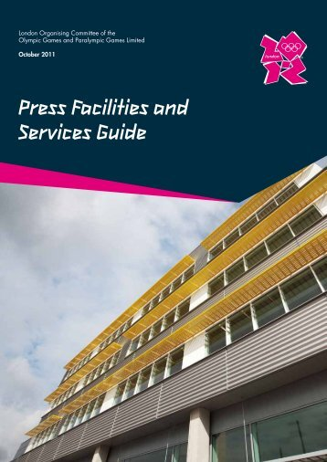 Press Facilities and Services Guide