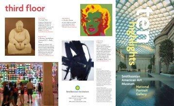 third f loor - Smithsonian American Art Museum