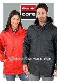Affordable Promotional Wear