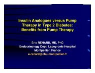 Insulin Analogues versus Pump Therapy in Type 2 Diabetes - CODHy