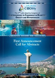 First Announcement Call for Abstracts - CODHy