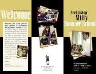 Summer School - Archbishop Mitty High School