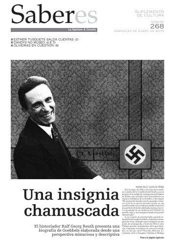 El historiador Ralf Georg Reuth presenta una biografía de Goebbels ...