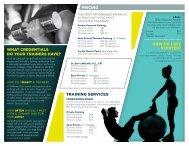 Personal Training Starter Pack - Bellevue Club