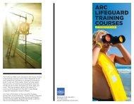 ARC LifeguARd TRAining CouRses - Bellevue Club