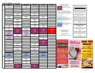 Kinesis Schedule - Bellevue Club