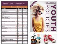 PoLICIeS - Bellevue Club