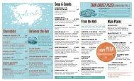 a sample lunch and dinner menus. - Bellevue Club