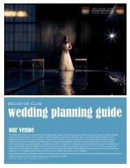 wedding planning guide - Bellevue Club