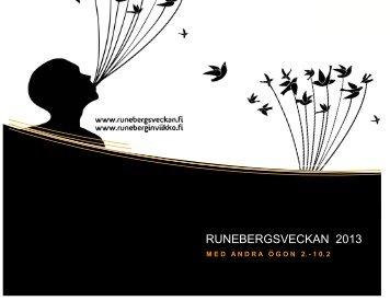 RUNEBERGSVECKAN 2013 - Jakobstad