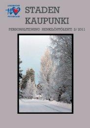 5183 Henkilöstölehti 2011-2.indd - Jakobstad
