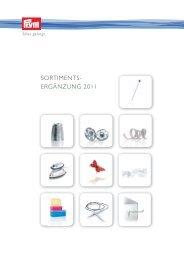Prym Sortimentsergänzung 2011 D