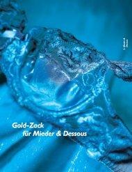 Gold-Zack für Mieder & Dessous