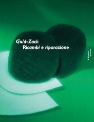 Gold-Zack Ricambi e riparazioni