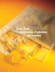 Gold-Zack Accessoires d'entretien des textiles