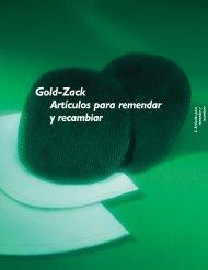 Gold-Zack Artículos para remendar y recambiar