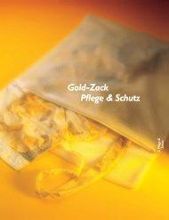 Gold-Zack Pflege & Schutz