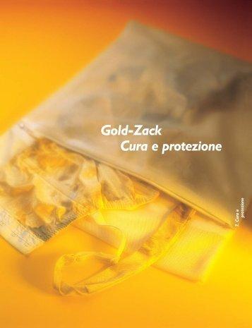 Gold-Zack Cura e protezione