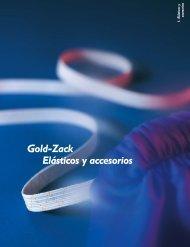 Gold-Zack Elásticos y accesorios